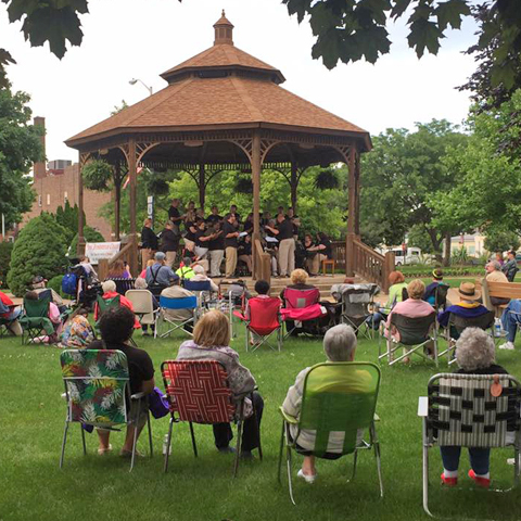 Washington Park Gazebo Concert